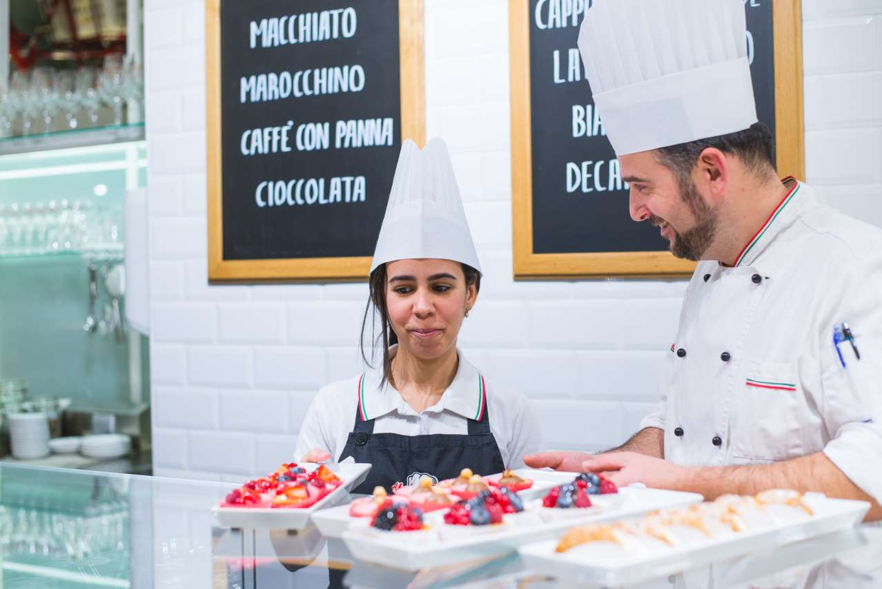 Olazs tésztá és desszert Budapesten