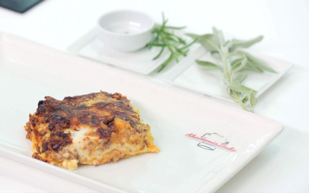 Lasagne al forno bolognese