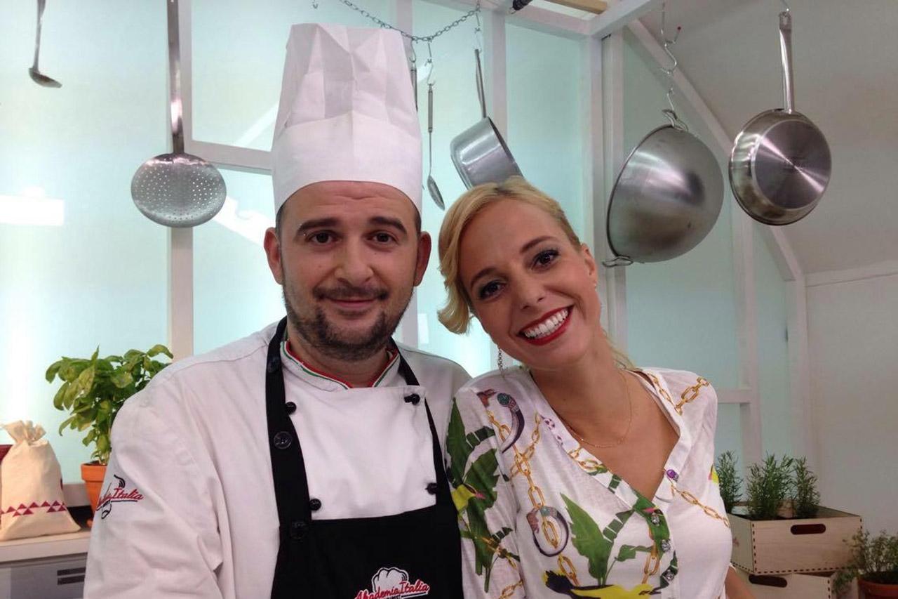 Akademia Italia gasztromagazin televízió Flóra és Alessandro